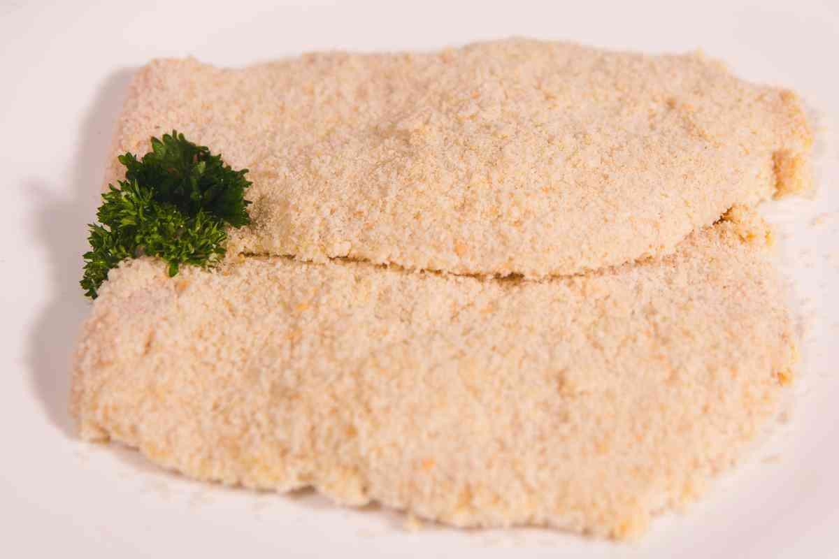 Crumbed Pork Schnitzel