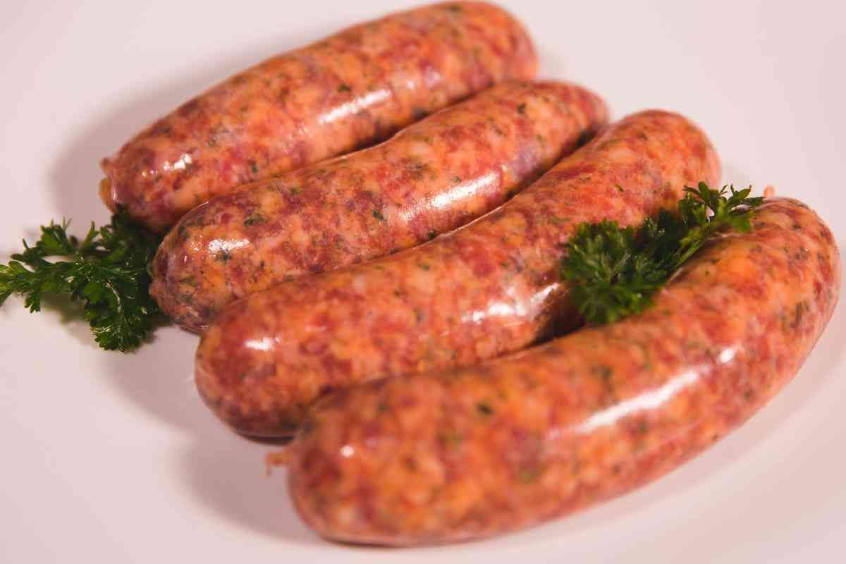 Bush Honey and Lamb Sausages
